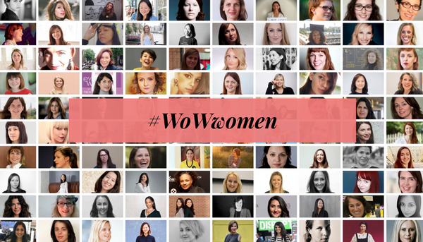 Women of Wearables grid of faces