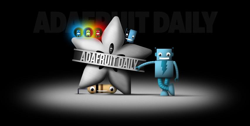 Adafruit Daily Landing