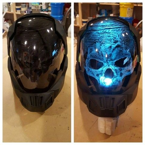 This Halo Buccaneer Helmet Is All About The Glow Factor
