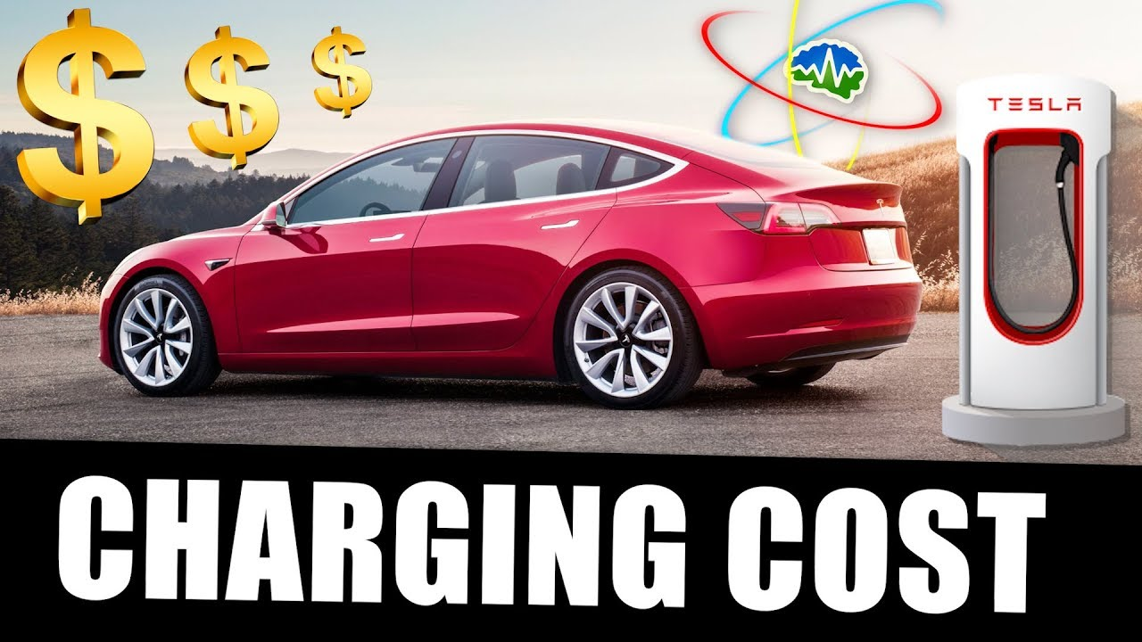 How Much Does It Cost To Charge a Tesla Model 3 ...