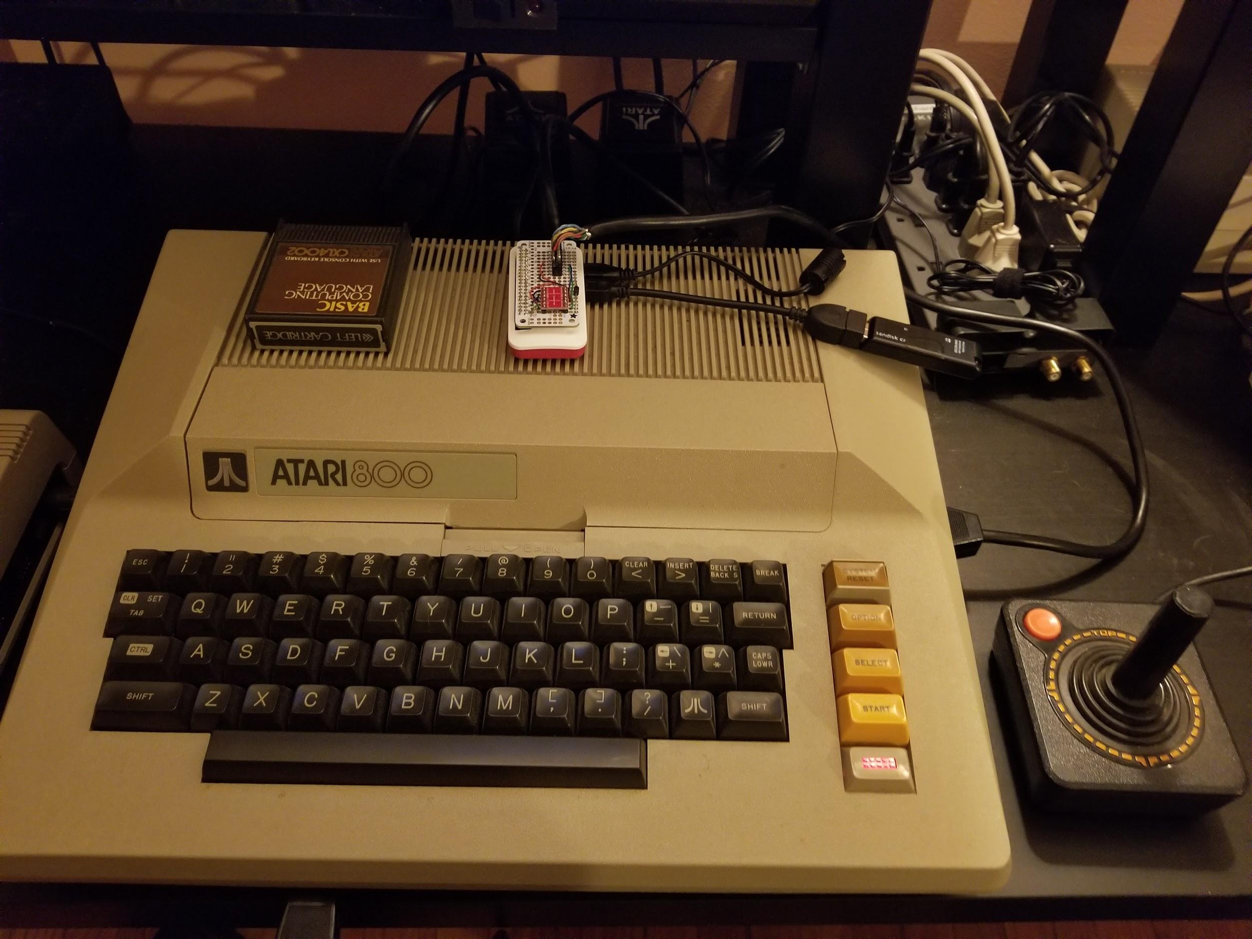 Hacking The Atari 800 Serial Input Output To A Raspberry Pi Zero W Wiring Diagram Supercool Project With Some Retro History Backstory And Walkthrough Over At Bloglmorchardcom