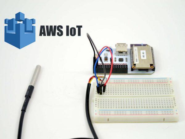 AWS IoT Temperature Sensor Monitor « Adafruit Industries