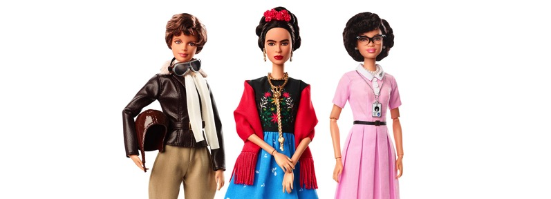 Mattel releases inspiring women barbie dolls designboom 1800