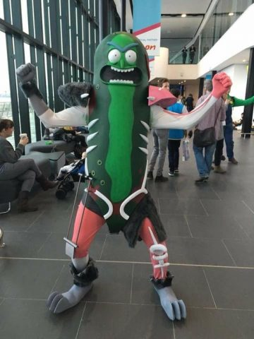 Pickle Rick Preserved in EVA Foam & Pickle Rick Preserved in EVA Foam « Adafruit Industries u2013 Makers ...