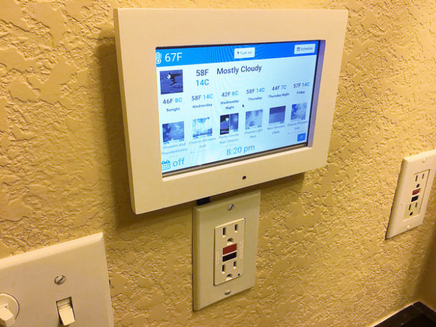 DIY Nuheat Floor Thermostat Using Pi Zero W, 15A GFCI Outlet, 7