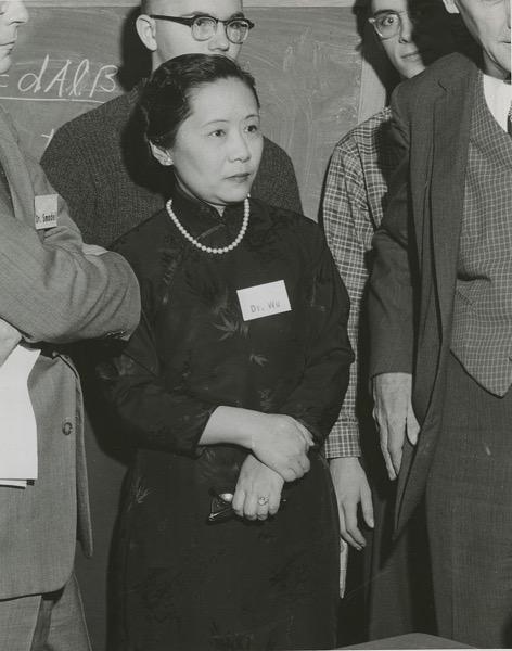 Chien Shiung Wu 1912 1997 in 1958