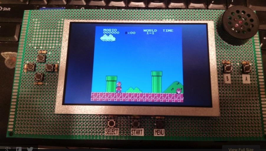 Gallery Spartan Mini FPGA handheld NES Hackaday io