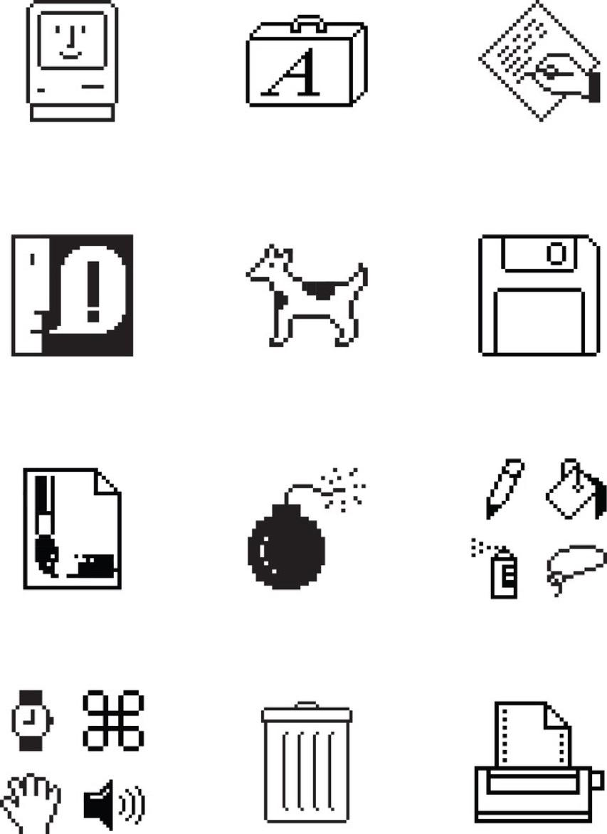 Lange-Susan-Kare-Vector-Icons