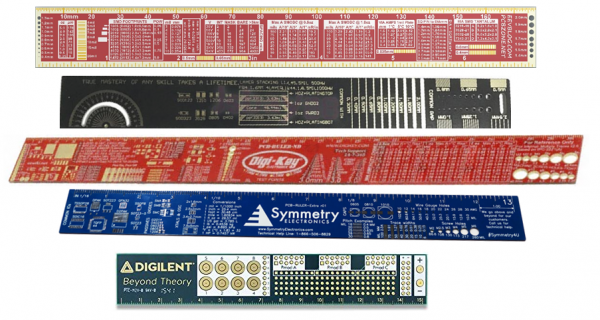 Assorted PCB Rulers