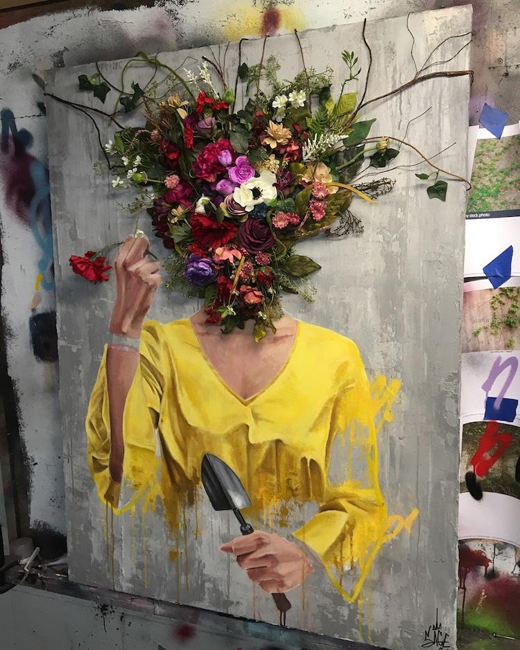 Sage barnes flower heads 4