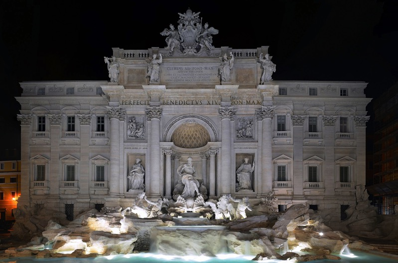 1920px Panorama of Trevi fountain 2015