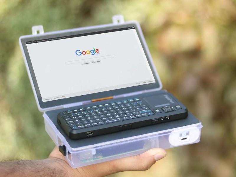 Pi-Powered 'Pocket Laptop' Fits Inside an 11x17cm (4.3×6.7 ...