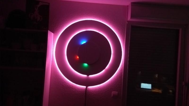 360 led clock