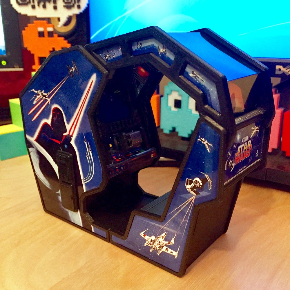 Atari Star Wars Arcade Cockpit Cabinet #3DThursday