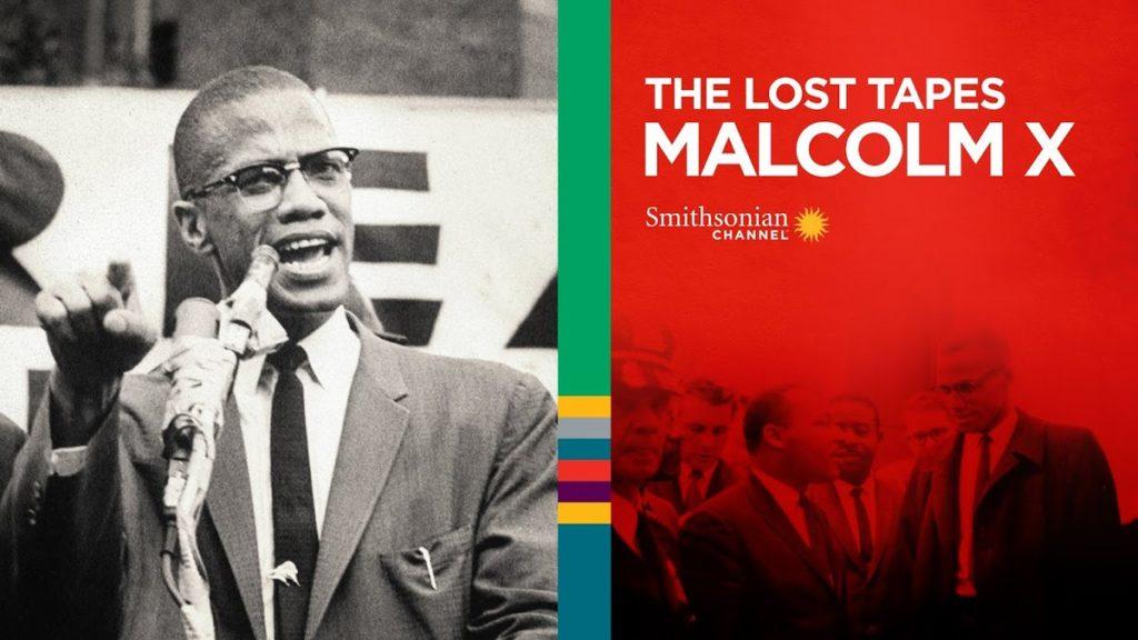 Malcolm X poster horiz