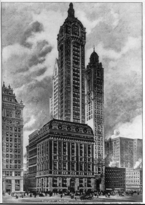 Tallest skyscrapers demolished 1