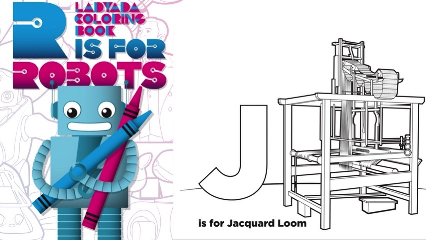 J is for Jacquard loom