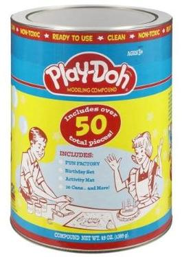 Play Doh Original Canister