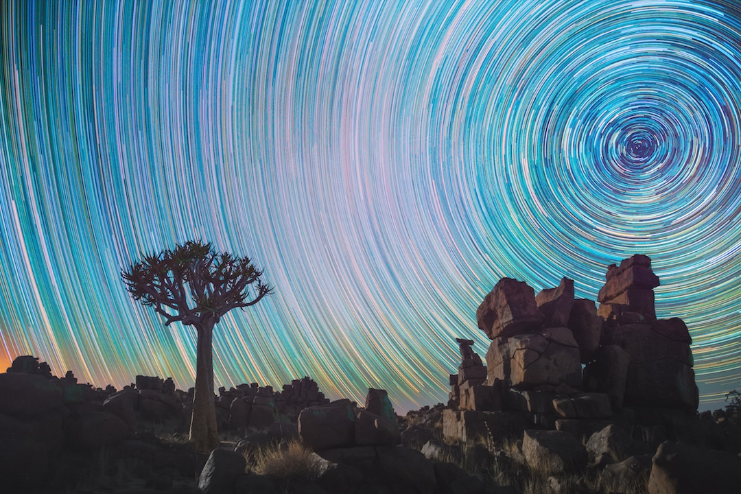 Swirling star trails daniel kordan 4