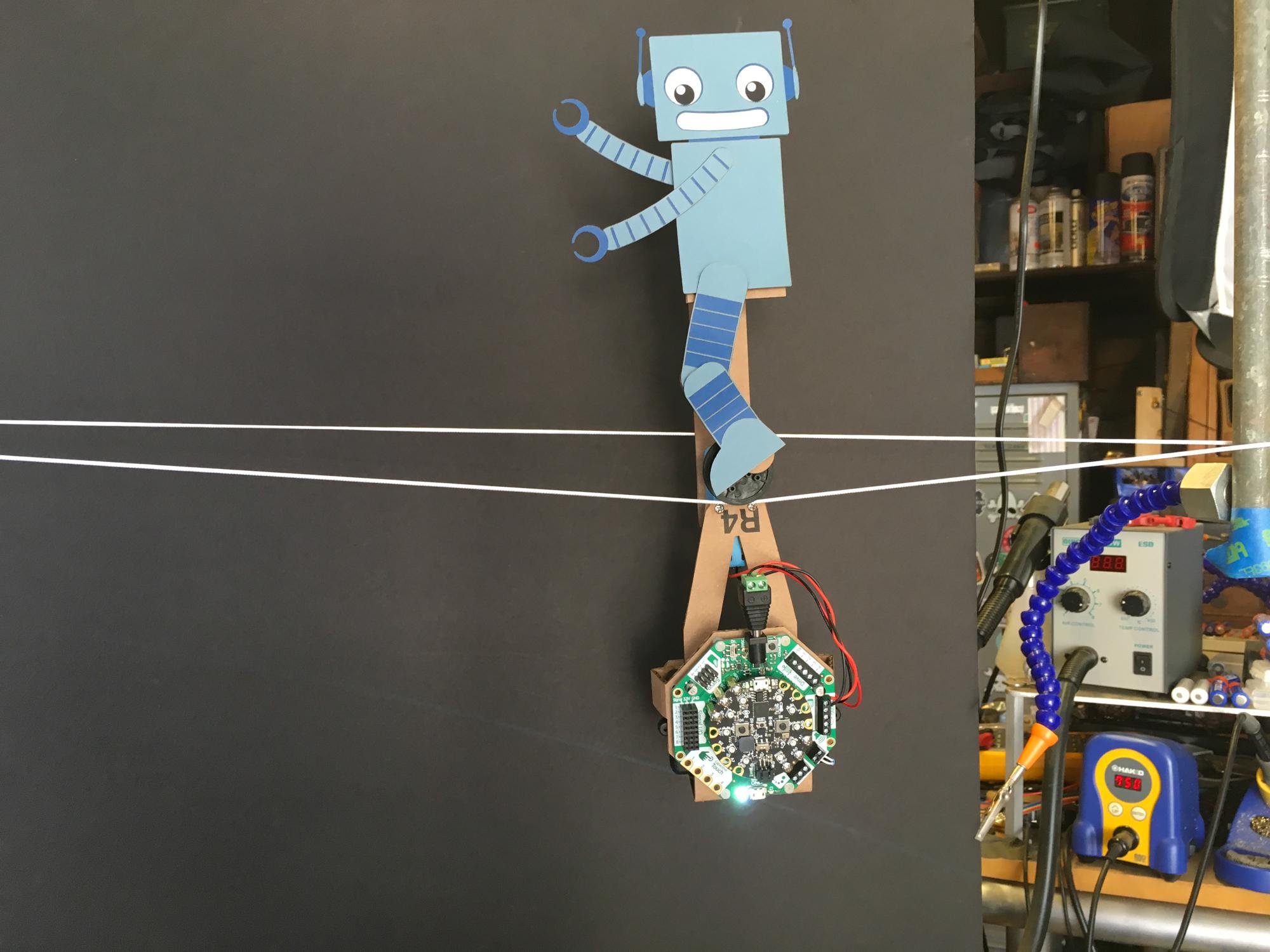 New Guide: John Park's Tightrope Unicycle Bot @adafruit