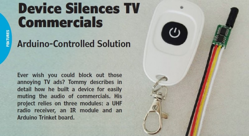 Kommercial Killer' Silences Your TV During Commercials – Using