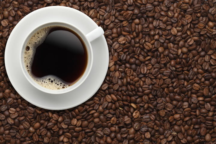 45602412 cup of coffee on beans 2