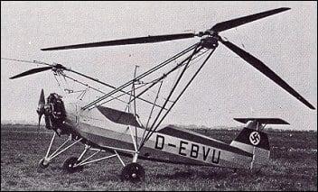 Focke Wulf Fw 61