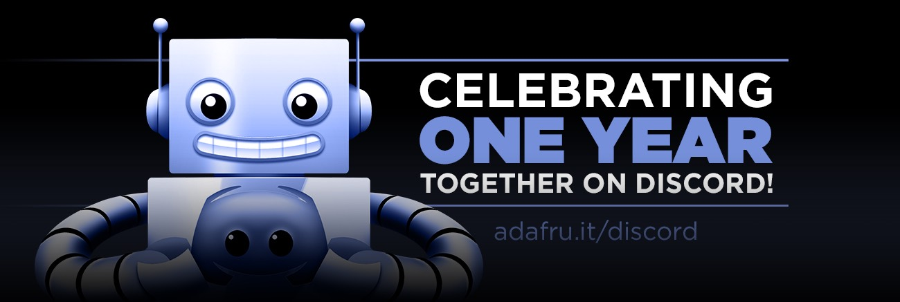 Adafruit One Year Discord Blog