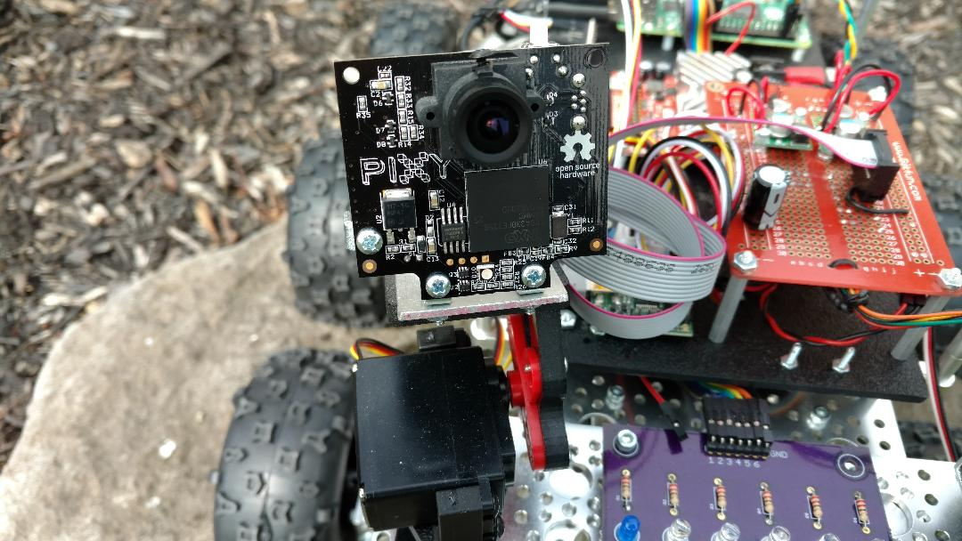 Track Objects using Raspberry Pi & Pixy CMUcam5 Sensor with