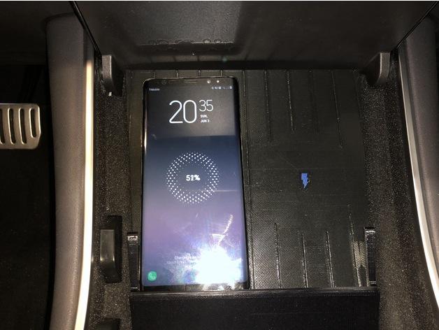 Tesla Model 3 Qi Wireless Charging Pad For Amazon Ultra