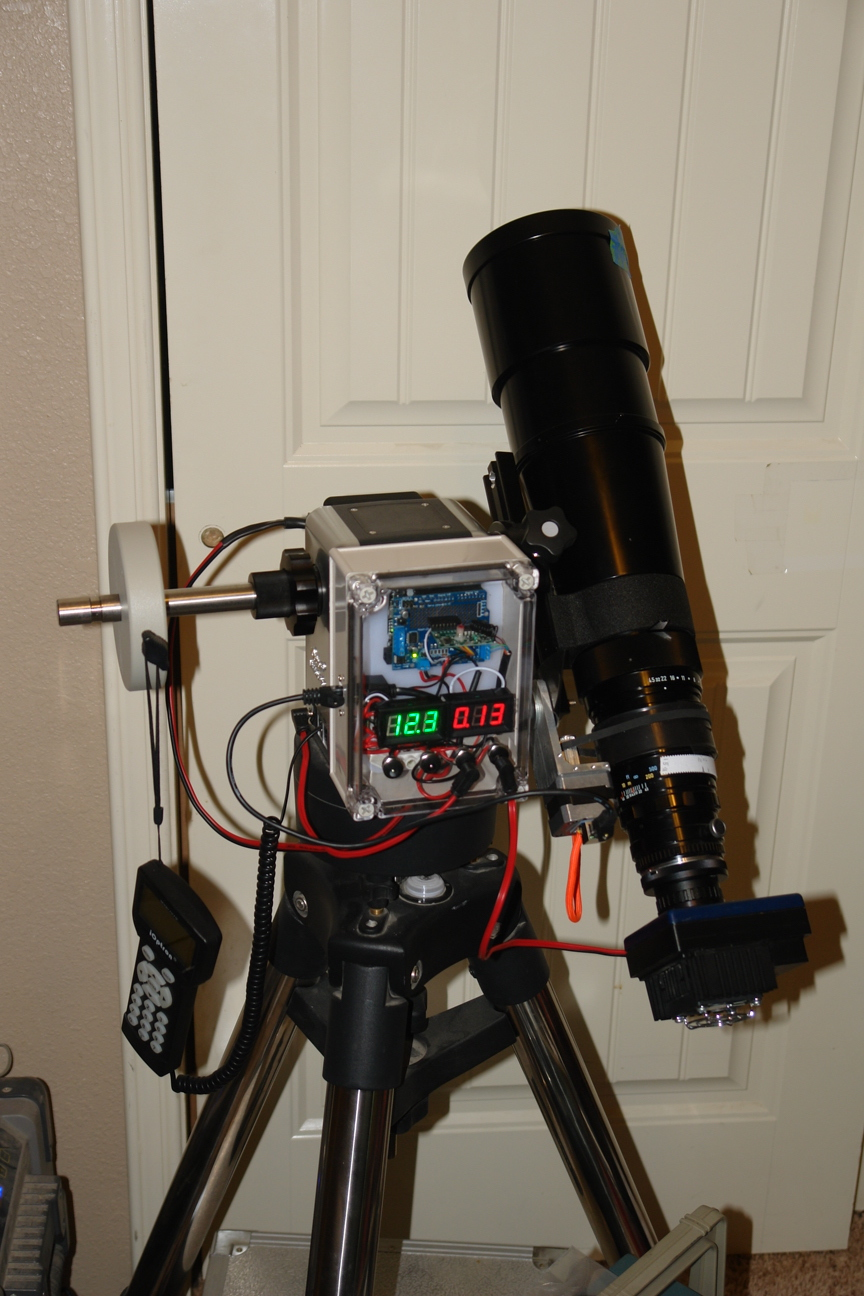 a remote controlled focuser for an astro camera