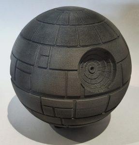3D-Printed Death Star Enclosure for Your Pi 3 | #StarWars #enclosure