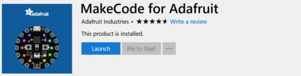 MakeCode for Windows 10