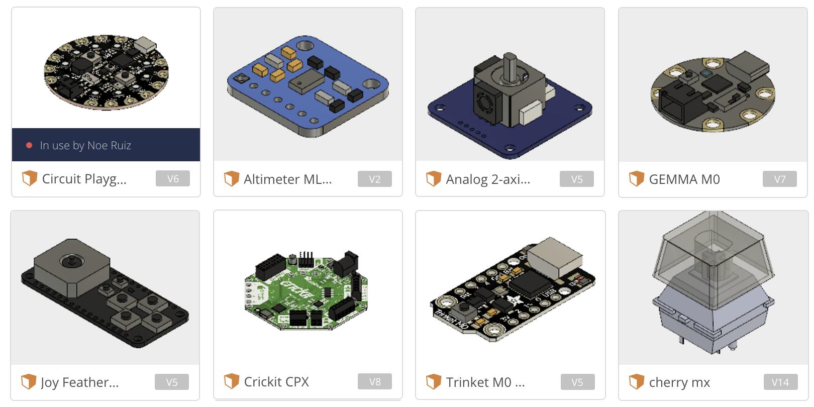 3D Models of Adafruit Parts on Github « Adafruit Industries