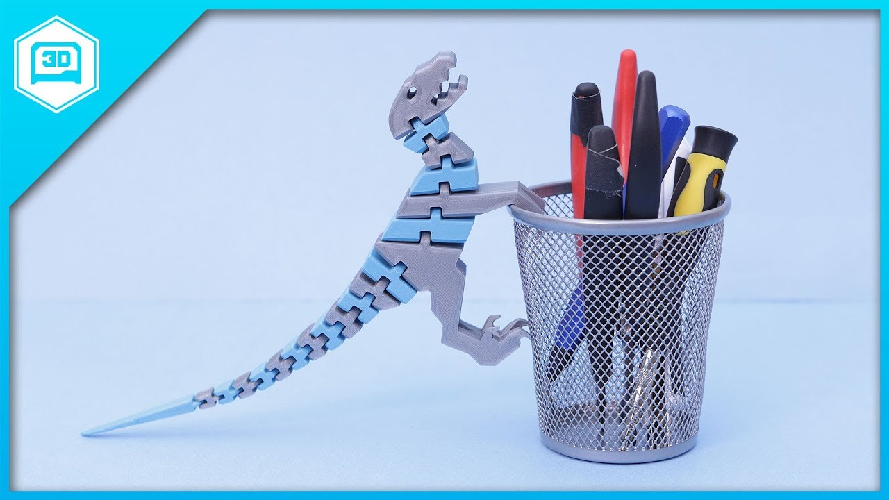 Flexi Raptor #3DThursday #3DPrinting « Adafruit Industries