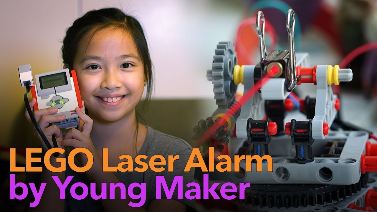 Laser Alarm With Lego Mindstorms Adafruit Industries Makers Hackers Artists Designers And Engineers