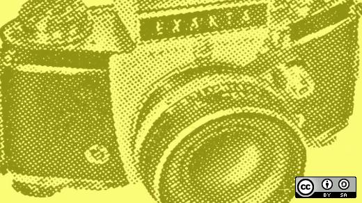 Osdc photo camera yellow
