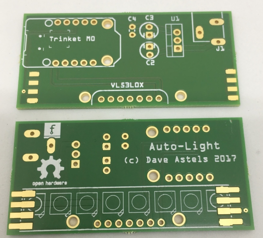 prox lighting pcb