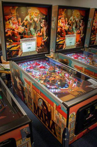 Mafia-Themed Raspberry Pi Controlled Pinball Machine #piday