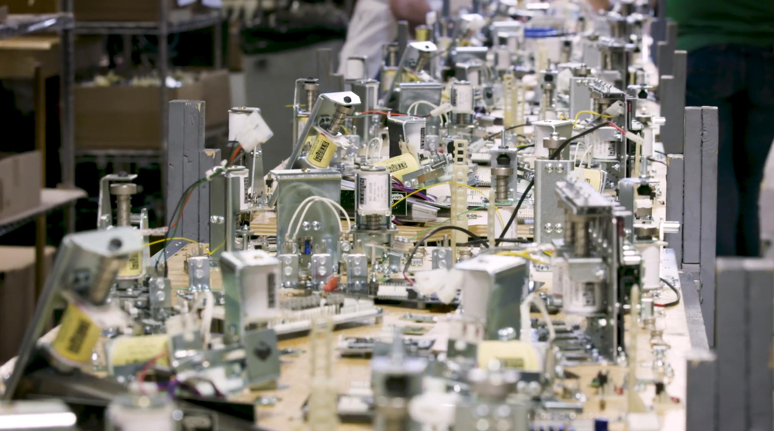 The Making of Star Wars Pinball Machines by Stern   #StarWars