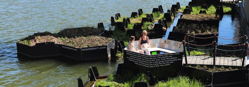 Recycled park rotterdam recycled island foundation 1800