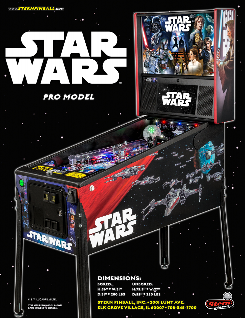 The Making of Star Wars Pinball Machines by Stern