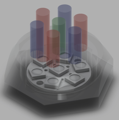 Neopixel Jewel Fiber Optic Attachment