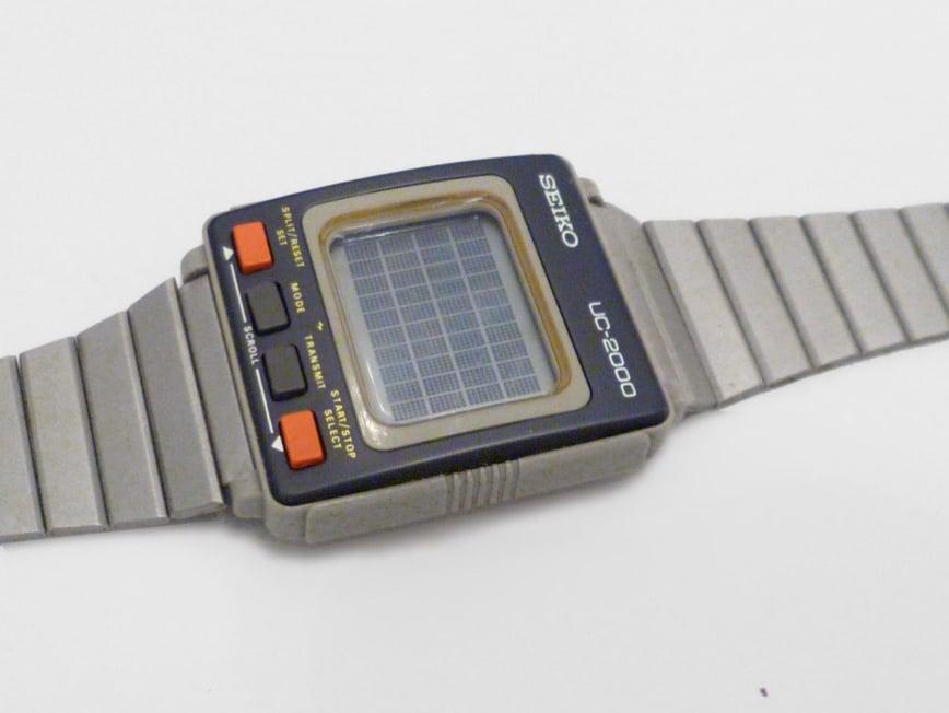 Seiko UC 2000 wristwatch computer 6