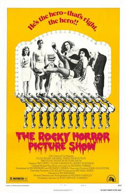 Original Rocky Horror Picture Show poster