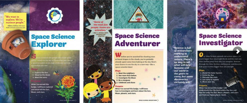 SETI Institute and Girl Scouts Celebrate New Space Science Badges SETI Institute