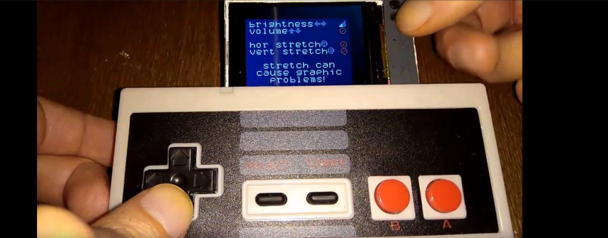 DIY portable NES Emulator