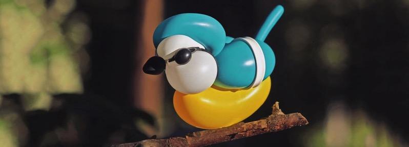 T james cook balloon sculptures birds designboom 1800