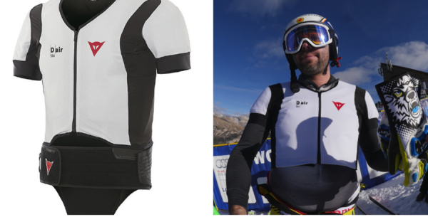 wearable airbag can protect olympic skiers in high speed. Black Bedroom Furniture Sets. Home Design Ideas