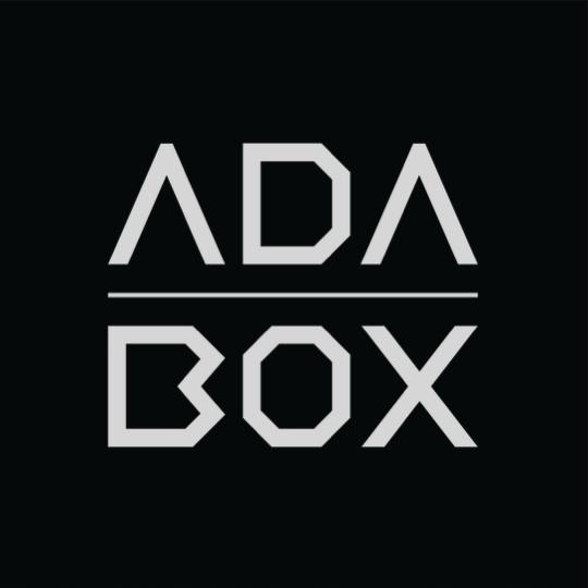Adabox logo black png